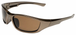 Safety Works 10105404 GlareGone Safety Glasses, Polarized, Espresso