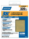 Norton Abrasives/St Gobain 02633 9x11 Job Pack Sandpaper