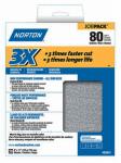 Norton Abrasives/St Gobain 02641 9x11 P80 Coarse Sdpaper