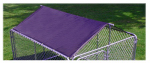 Stephens Pipe & Steel DKR60800 Dog Kennel Roof Kit, 6 x 8 x 4-Ft.