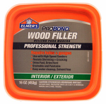 Elmer's Product P9891 Wood Filler, Stainable, Interior/Exterior, Pint