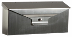 Solar Group DWHOSS01 Urban Mailbox, Wall-Mount, Satin Steel, 6 x 15-1/2 x 3-3/4-In.