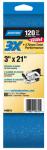 Norton Abrasives/St Gobain 02225 2PK 3x21 120G Sand Belt