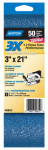 Norton Abrasives/St Gobain 02227 2PK 3x21 50G Sand Belt