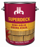 Duckback Products DB0028504-16 Gal Semi-Solid Siding Stain Neutral Base