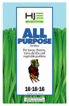 Howard Johnsons 7133 All-Purpose Fertilizer, 16-16-16, 20-Lbs.