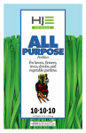 Howard Johnsons 7136 35LB10-10-10 Fertilizer