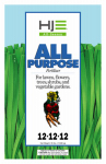 Howard Johnsons 7137 All-Purpose Fertilizer, 12-12-12, 35-Lbs.