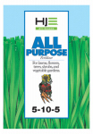 Howard Johnsons 7235 All-Purpose Garden Food, 5-10-5, 15-Lbs.