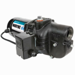 Wayne Water Systems SWS50 Shallow Well Pump, .5-HP Motor, .5-In.