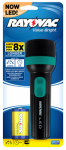 Spectrum/Rayovac VB1DLED-BA LED Flashlight, 9 Lumens Bright