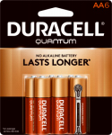 "Duracell Distributing Nc 66224 Quantum ""AA"" Batteries, 6-Pk."