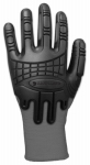 Gordini Usa A612GRY M C-Grip Impact Work Gloves, Gray, Medium