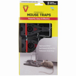 Woodstream M142S 2PK Power Kill Mouse Trap