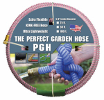Jgb Enterprises 001-0100-0600 Perfect Garden Hose, Pink, 5/8-In. x 50-Ft.