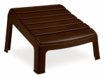 Adams Mfg 8380-60-3731 Adirondack Ottoman, Earth Brown