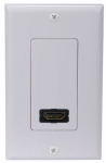 Audiovox DH200 HDMI Single Wall Plate