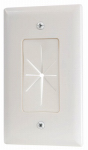 Audiovox VH64R Pass-Thru Wall Plate, White