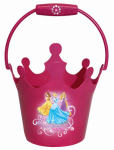 Midwest Quality Gloves PR08KD4 Disney Princess, Kids Plastic Garden Bucket