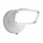 Cooper Lighting FSS1530LPCW LED Security Flood Light, Outdoor, White Aluminum, 90-Watt