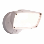 Cooper Lighting FSL2030LW LED Security Flood Light, Outdoor, White Aluminum, 150-Watt