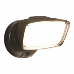Cooper Lighting FSL2030L LED Security Flood Light, Outdoor, Bronze Aluminum, 150-Watt