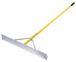 Seymour Mfg 56036 Asphalt Lute Rake, Aluminum, 36-In. With 82-In. Handle