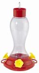 Woodlink NA35237 Bird Feeder, Hummingbird, Plastic Bottle, 16-oz.