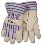 Kinco International 1927-C Work Gloves, Suede, Fleece-Lined, Child's Ages 3-6