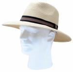 Principle Plastics 444DH Gardener's Hat, Beige & Tan Braided, Unisex