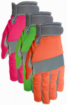 Midwest Quality Gloves 149D4-S SM Ladies Synthetic Gloves