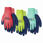 Midwest Quality Gloves 66D4-M Ladies Latex Dipped Gripping Glove- Medium