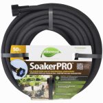 Teknor-Apex 1030-50 Soaker Hose, Black Vinyl, 50-Ft.