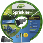 Teknor-Apex 2030-50 Sprinkler Hose, Twin-Tube, Brown Vinyl, 50-Ft.