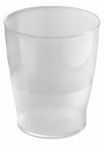 Interdesign 45720 Bathroom Waste Can, Clear Plastic
