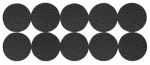 Shepherd Hdwe Prod 3601 Furniture Grip Pads, Round, Adhesive, .75-In., 20-Pk.