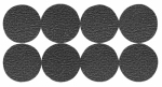 Shepherd Hdwe Prod 3602 Furniture Grip Pads, Round, Adhesive, 1-In., 16-Pk.