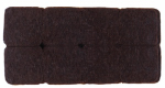 Shepherd Hdwe Prod 9864 Self-adhesive Round Felt Pad, Brown, 1-In., 16-Pack