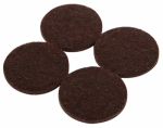 Shepherd Hdwe Prod 9863 Furniture Grip Pads, Heavy-Duty, Adhesive, Brown Felt, 1.5-In., 8-Pk.