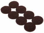 Shepherd Hdwe Prod 9862 Furniture Grip Pads, Heavy-Duty, Adhesive, Brown Felt, 1-In., 16-Pk.