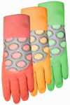 Midwest Quality Gloves 64F6-M Ladies EZGrip Rubber Coated Glove- Medium
