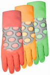 Midwest Quality Gloves 64F6-S Ladies EZGrip Rubber Coated Glove- Small