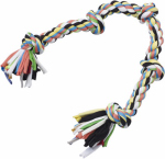 "Ethical Products 5089 25"" 5Knot Rope Dog Toy"