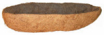 Panacea Products 88598 Coco Plant Liner, Trough, 7 x 30-In.