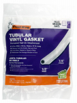 Thermwell V18WH Tubular Vinyl Gasket, .5 x .25-In. x 17-Ft.