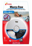 Kidde Plc 21010167 Worry-Free Hallway Smoke Alarm With Safety Light