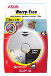 Kidde Plc 21010161 Bedroom Smoke Alarm With Voice Alert, 10-Yr.