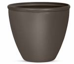 Suncast 1606B4 Planter, Bronze Resin, 16-In.