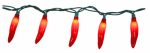 Luckytown Home Product RU-20245 String Light Set, Red Hot Pepper, 20-Ct.