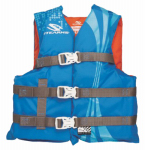 Stearns 3000002211 Youth BLU/ORG Water Vest